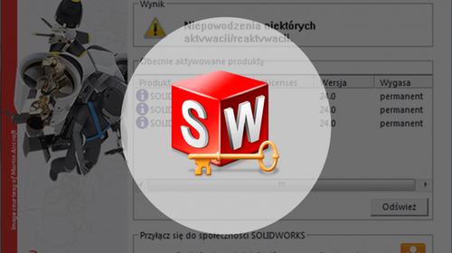 Manager licencji SolidNetWork License Manager