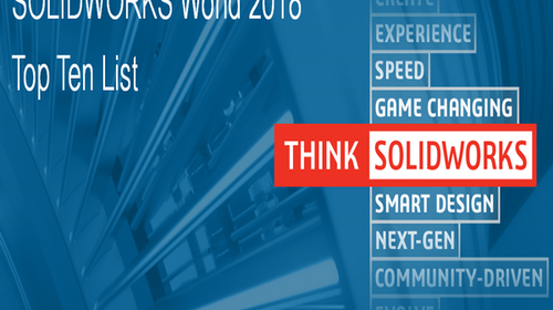 Lista TOP 10 SOLIDWORKS World 2018 otwarta